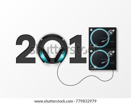 happy new year 2018 party