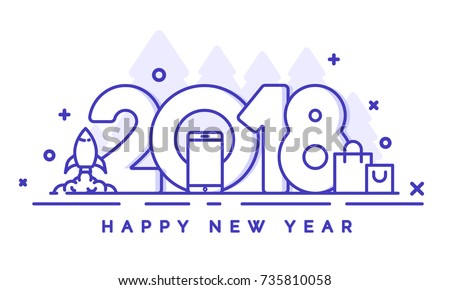 happy new year sale banner with