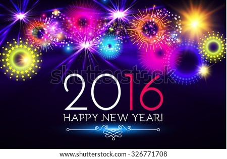 happy new 2016 year seasons