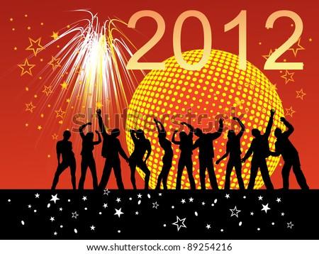 happy new year - vector