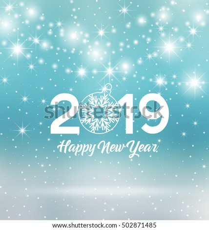 Vector Images Illustrations And Cliparts Happy New Year 2019