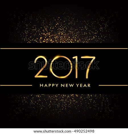 happy new year 2017 with