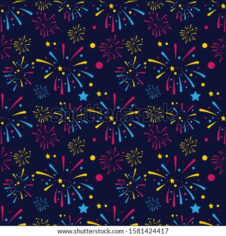 Happy New Years Pattern Vector, Wallpaper, Wall Decor, Decor, Printables