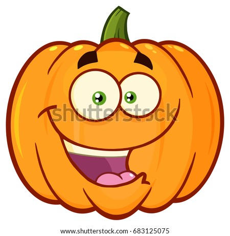 Pumpkin emoticon vectors download free vector art stock happy orange pumpkin vegetables cartoon emoji face character with expression vector illustration isolated on white thecheapjerseys Choice Image
