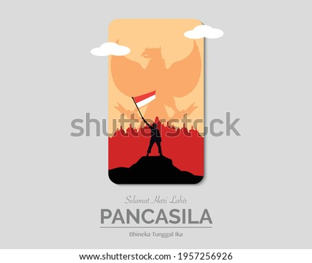 Happy Pancasila Day Phone Paper