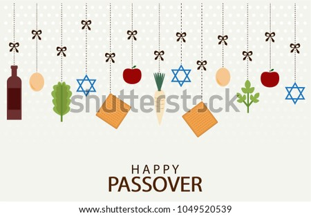 Passover download free vector art stock graphics images happy passover greeting card or background jewish holiday vector illustration m4hsunfo