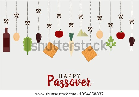 Passover download free vector art stock graphics images happy passover greeting card or background vector illustration m4hsunfo
