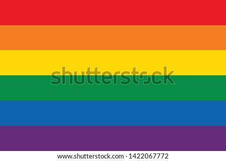 Happy pride background illustration design