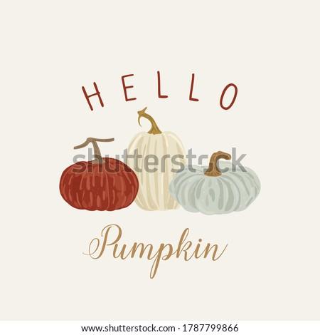 happy pumpkin banner  autumn