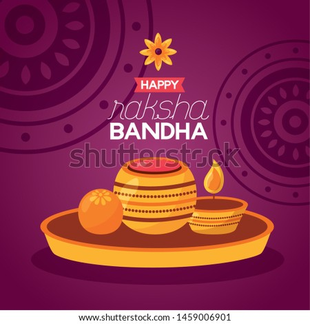 happy raksha bandhan flowers