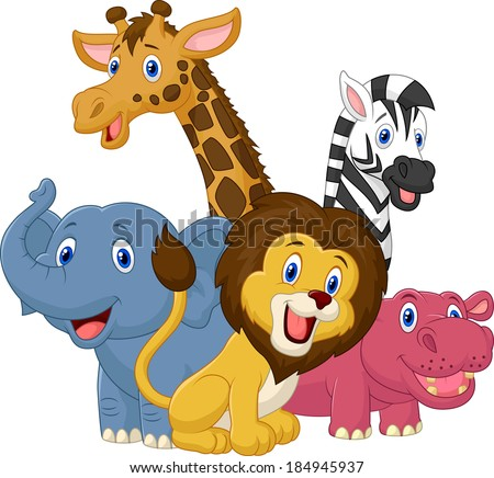 wild animals cartoons download free vector art stock graphics
