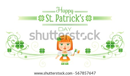 happy saint patrick day border