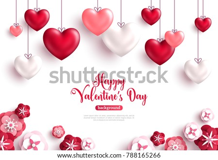 Patterned Hearts For Valentine S Day Download Free Vector Art