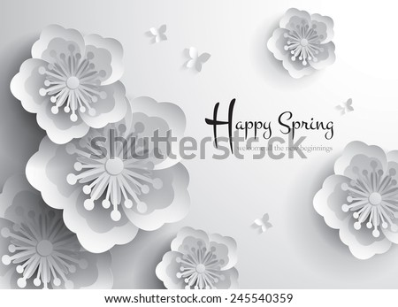 happy spring welcome all the