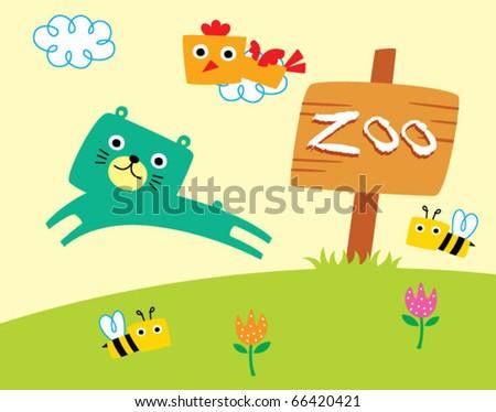 happy teddy zoo