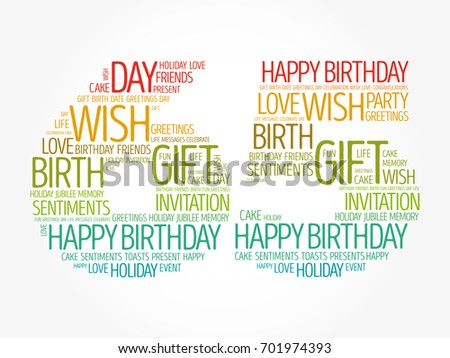 Happy Birthday Word Cloud Collage Concept Ez Canvas Jpg 450x358 65th