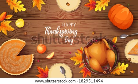 happy thanksgiving banner with