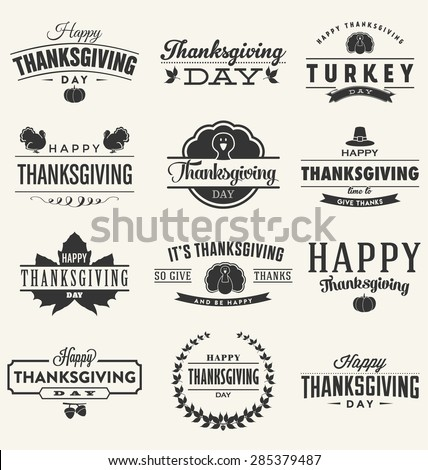 happy thanksgiving day design