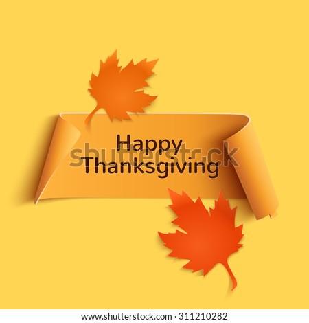 happy thanksgiving  yellow