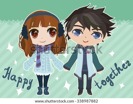 happy together   card with