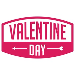 Happy valentine day world design