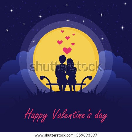happy valentine's day couple