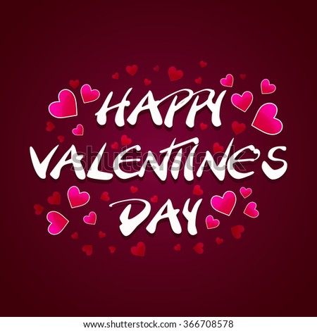 Happy Valentine's Day Designs #366708578