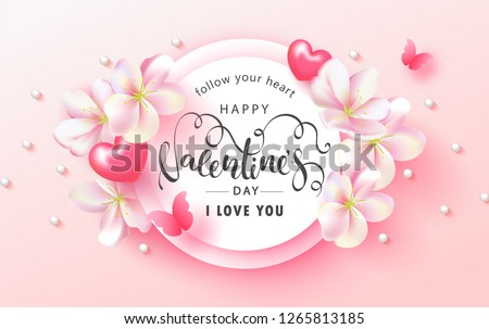 happy valentine's day festive