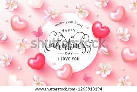 happy valentine's day festive
