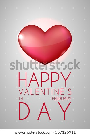 happy valentine's day greeting