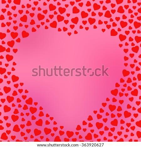happy valentine's day pink
