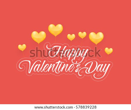 Happy valentines day greeting card download free vector art happy valentines day red colors postcard web banner celebration design greeting card vector m4hsunfo