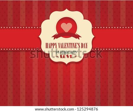 Happy Valentine's Day Vector Design