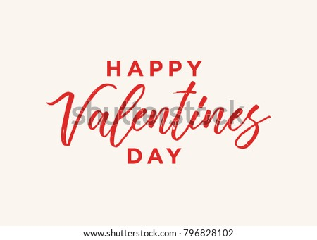 happy valentines day vector text background