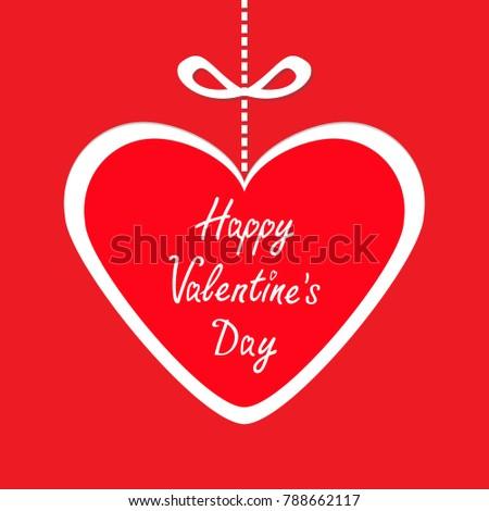 happy valentines day big paper