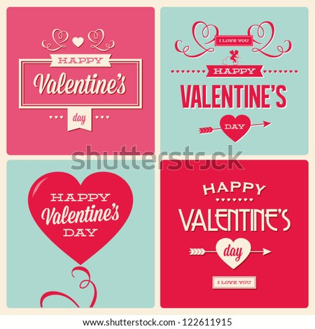 happy valentines day cards with