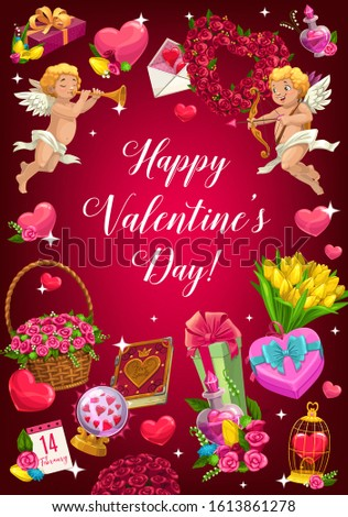 happy valentines day holiday