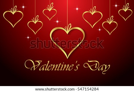 Happy Valentines Day Invitation On The Dinner Background For Flayer