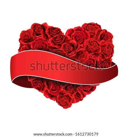 happy valentines day red roses