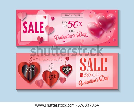 happy valentines day sale
