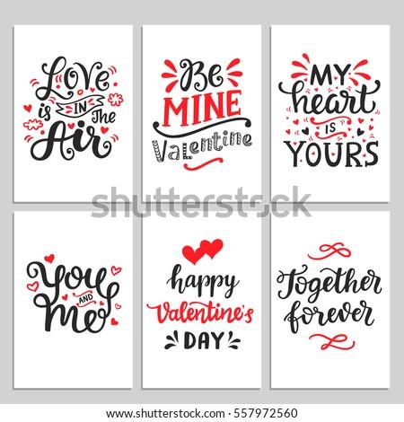 happy valentines day typography