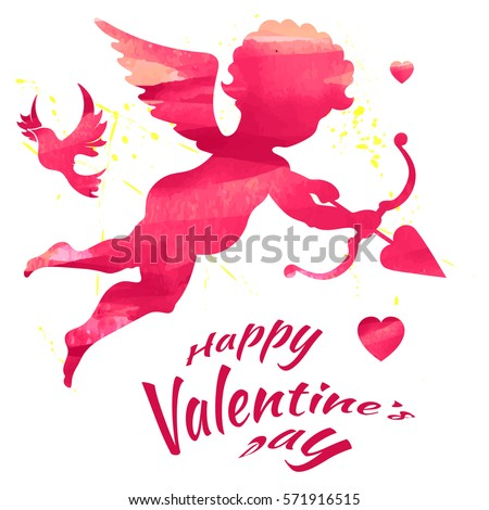 Happy Valentines Day, vector illustration