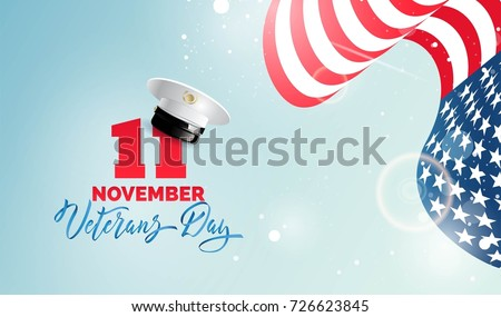 happy veterans day flyer