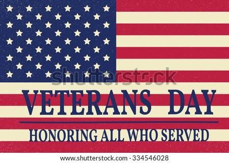 Free veterans day vector retro banners download free vector art happy veterans day greeting card vector illustration m4hsunfo