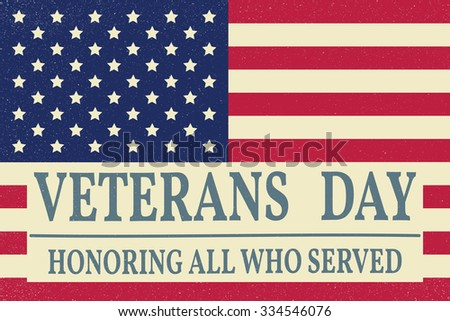 Free veterans day vector retro banners download free vector art happy veterans day greeting card vector illustration m4hsunfo Image collections