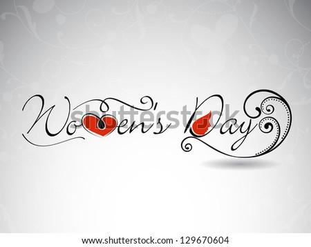 Happy Women's Day.