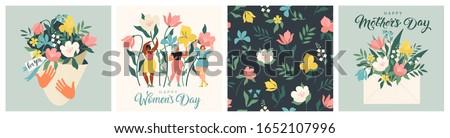 happy women's day march 8  cute