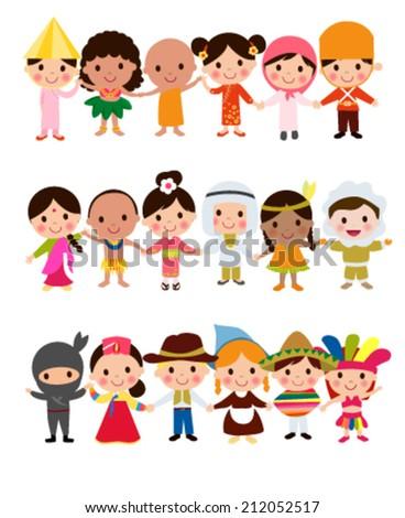 happy world kids set with