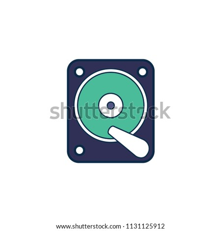 Hard disk, computer hard disk