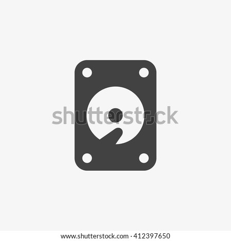 hard disk icon  hard disk icon